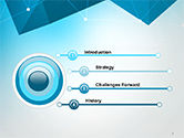 Polygons and Connected Dots PowerPoint Template#3