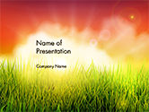 Nature & Environment: Dawning PowerPoint Template #14625