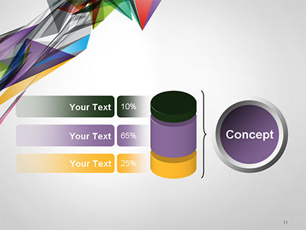 Abstract Geometric Shapes PowerPoint Template Slide 11