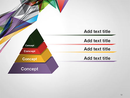 Abstract Geometric Shapes PowerPoint Template Slide 12