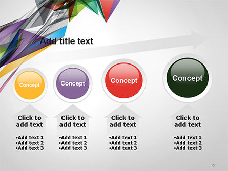 Abstract Geometric Shapes PowerPoint Template Slide 13