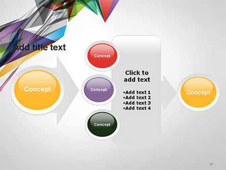 Abstract Geometric Shapes PowerPoint Template Slide 17
