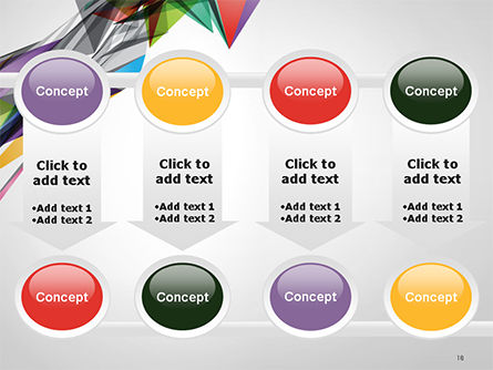 Abstract Geometric Shapes PowerPoint Template Slide 18