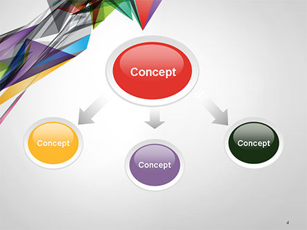 Abstract Geometric Shapes PowerPoint Template Slide 4
