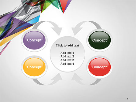 Abstract Geometric Shapes PowerPoint Template Slide 6