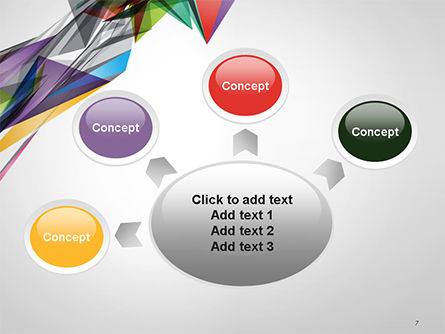 Abstract Geometric Shapes PowerPoint Template Slide 7