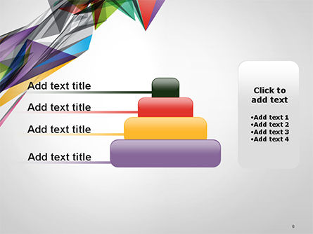 Abstract Geometric Shapes PowerPoint Template Slide 8