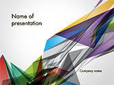 Abstract/Textures: Abstracte Geometrische Vormen PowerPoint Template #14626