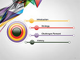 Abstract Geometric Shapes PowerPoint Template#3