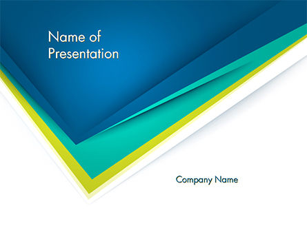 Abstract/Textures: Abstract Angle Paper Layer PowerPoint Template #14630