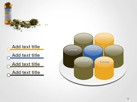 Medical Cannabis PowerPoint Template Slide 12