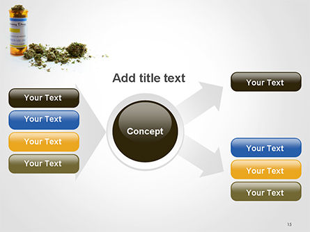 Medical Cannabis PowerPoint Template Slide 15