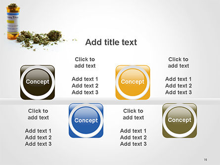 Medical Cannabis PowerPoint Template Slide 18