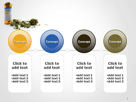 Medical Cannabis PowerPoint Template Slide 5
