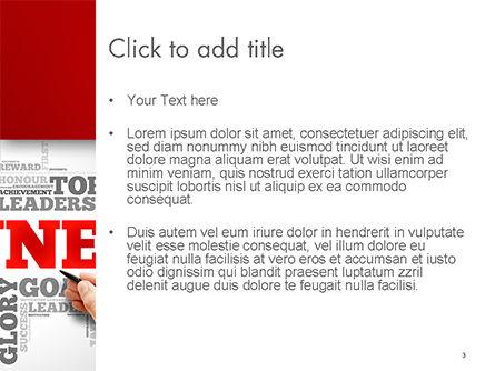 Winner Word Cloud PowerPoint Template, Slide 3, 14633, Business Concepts — PoweredTemplate.com