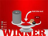 Winner Word Cloud PowerPoint Template#10