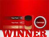 Winner Word Cloud PowerPoint Template#11