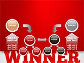 Winner Word Cloud PowerPoint Template#19