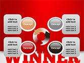 Winner Word Cloud PowerPoint Template#9