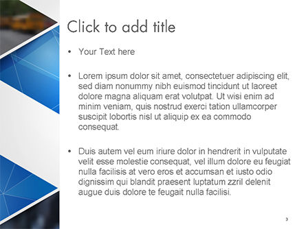 Abstract Triangular Geometric PowerPoint Template, Slide 3, 14640, Abstract/Textures — PoweredTemplate.com