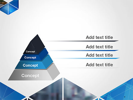Abstract Triangular Geometric PowerPoint Template Slide 4