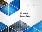 Abstract/Textures: Abstract Triangular Geometric PowerPoint Template #14640