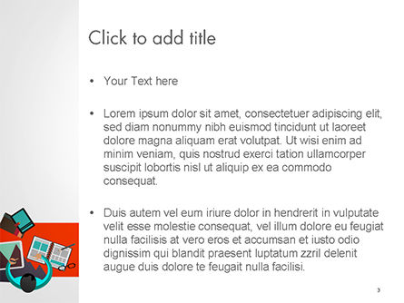 Graphic Designer PowerPoint Template, Slide 3, 14641, Business Concepts — PoweredTemplate.com