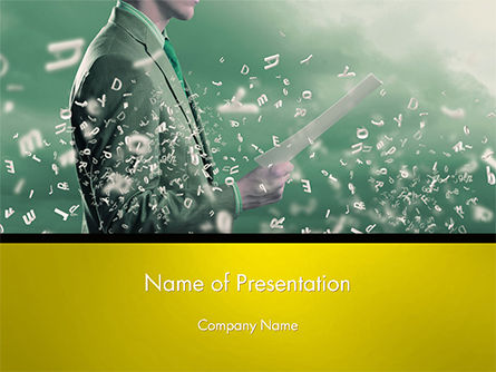 Business Concepts: Innovative Product Development PowerPoint Template #14643