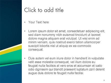 Business Brochure Style PowerPoint Template, Slide 3, 14645, Abstract/Textures — PoweredTemplate.com