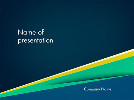 Business Brochure Style PowerPoint Template