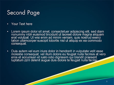 Business Brochure Style PowerPoint Template Slide 2