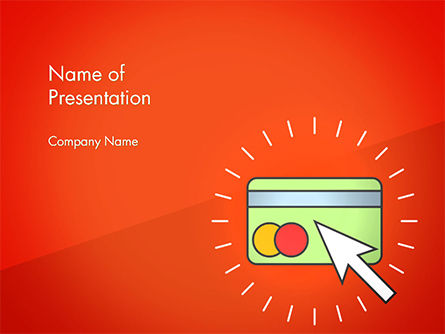 Online Money Concept PowerPoint Template, 14647, Financial/Accounting — PoweredTemplate.com