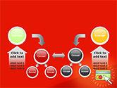 Online Money Concept PowerPoint Template#19
