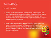 Colorful Gears PowerPoint Template#2
