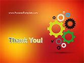 Colorful Gears PowerPoint Template#20