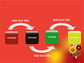 Colorful Gears PowerPoint Template#4