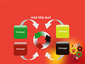Colorful Gears PowerPoint Template#6