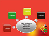 Colorful Gears PowerPoint Template#7