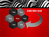 Zebra Abstract Surface PowerPoint Template#11