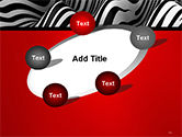 Zebra Abstract Surface PowerPoint Template#14