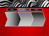 Zebra Abstract Surface PowerPoint Template#16