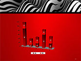 Zebra Abstract Surface PowerPoint Template#17