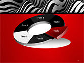 Zebra Abstract Surface PowerPoint Template#19