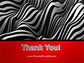 Zebra Abstract Surface PowerPoint Template#20