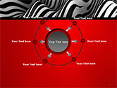 Zebra Abstract Surface PowerPoint Template#7