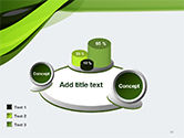 Green and Gray Bands PowerPoint Template#13