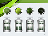 Green and Gray Bands PowerPoint Template#18