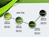Green and Gray Bands PowerPoint Template#6
