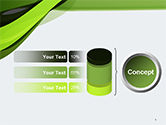 Green and Gray Bands PowerPoint Template#8