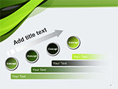 Green and Gray Bands PowerPoint Template#9